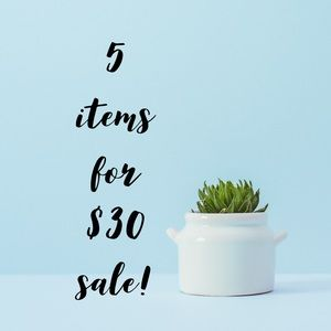 🌻5/$30🌻 SALE! Just look for the 🌻
